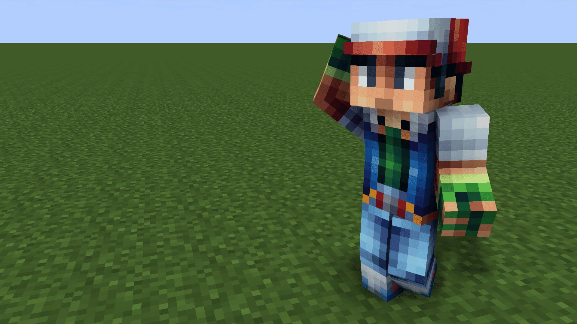 Great Pokemon RedBlueYellow Skins For Minecraft - Skins para minecraft original