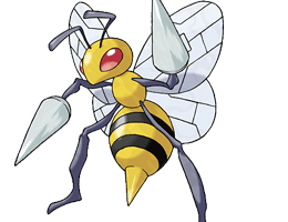 Beedrill - Ken Sugimori's Official Artwork