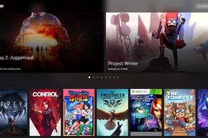 Project xCloud games library