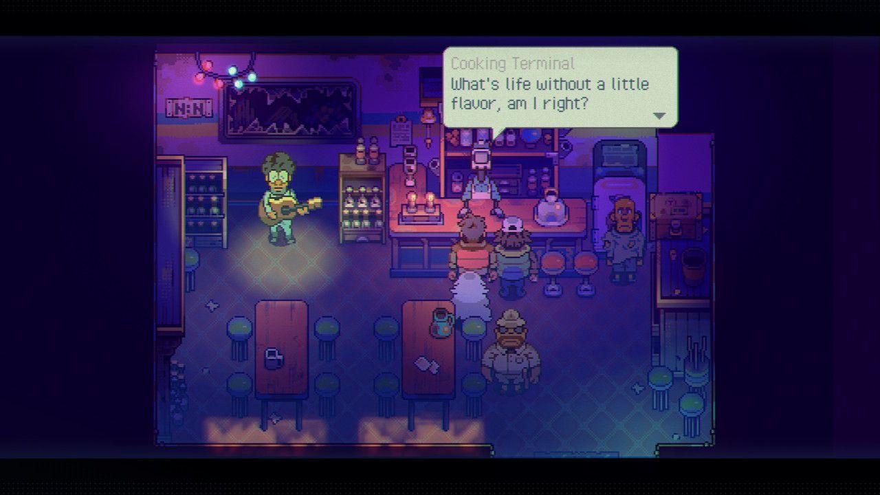 A screenshot from 'Eastward.'