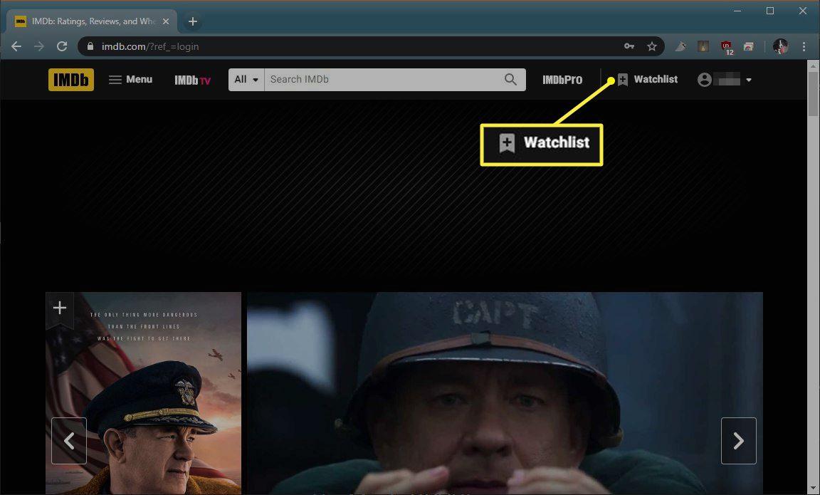 Watchlist link