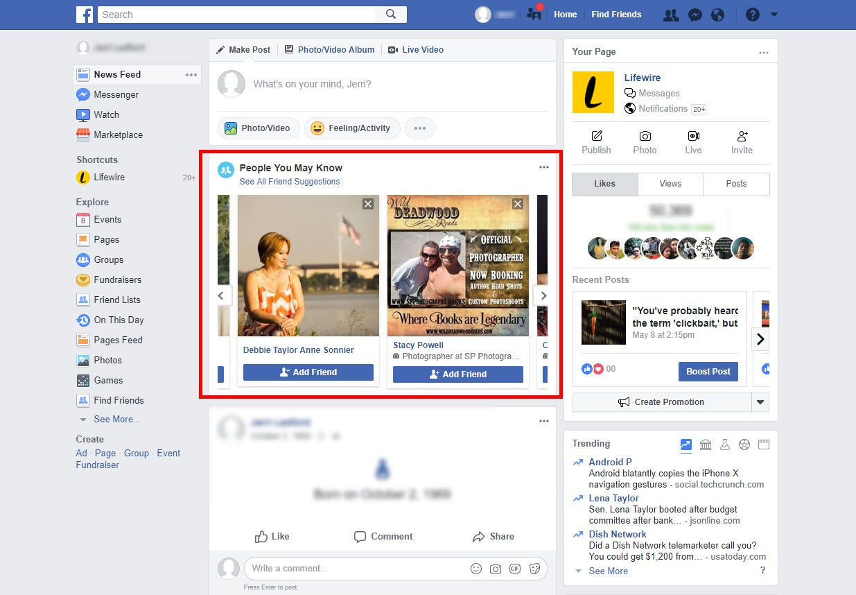 find friends from other countries on facebook