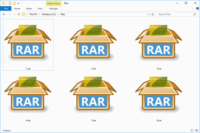 how to compress a file in parts with winrar