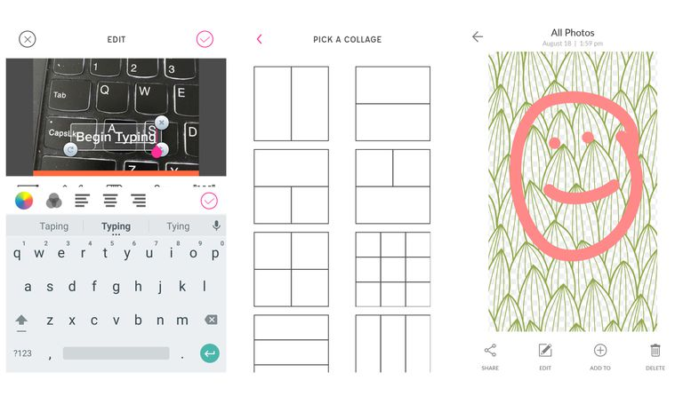 the 7 best apps to write on pictures on ios and android