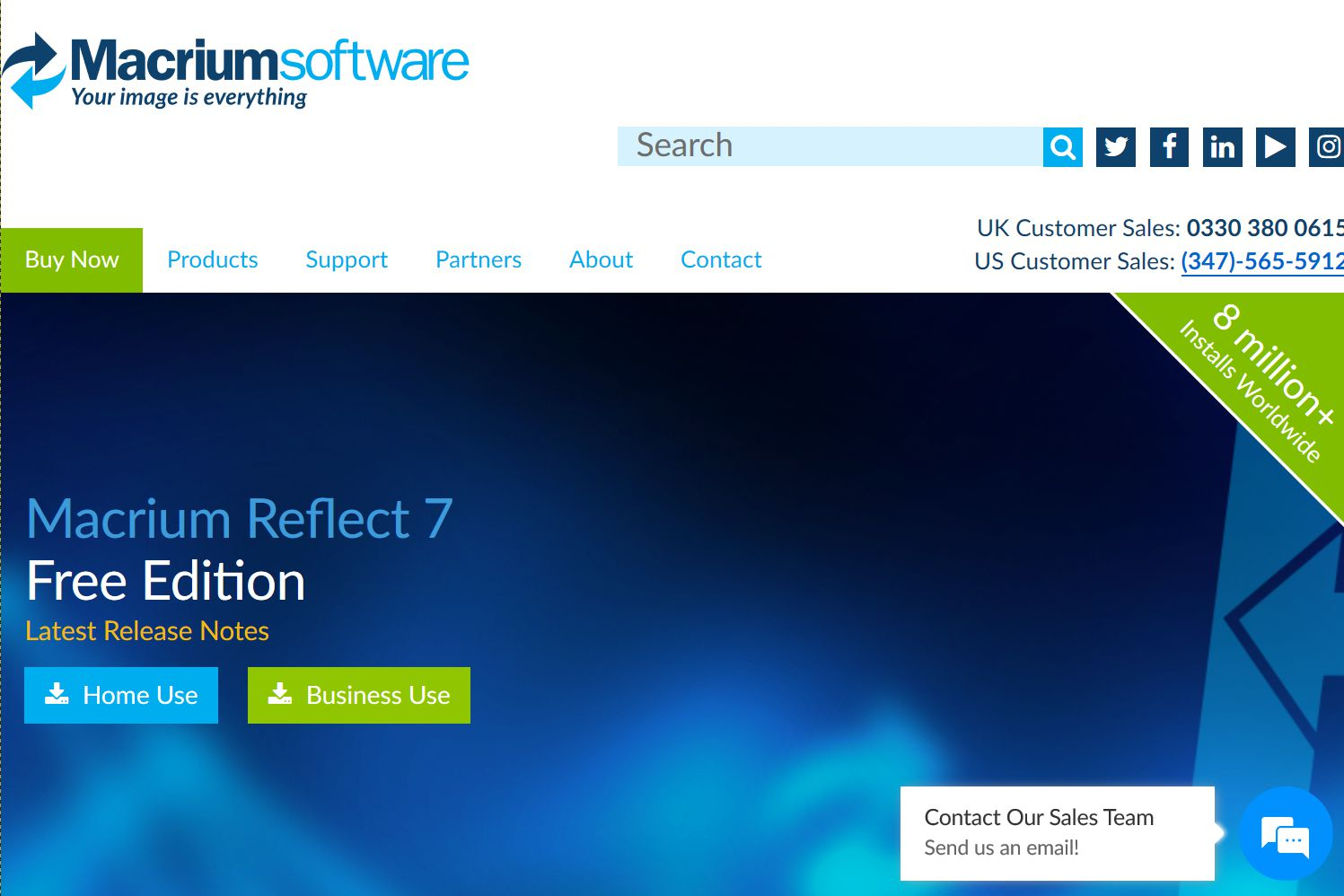 Macrium Reflect 7 Free Edition Download Page