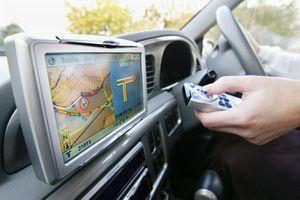 Automobile's GPS Navigation System