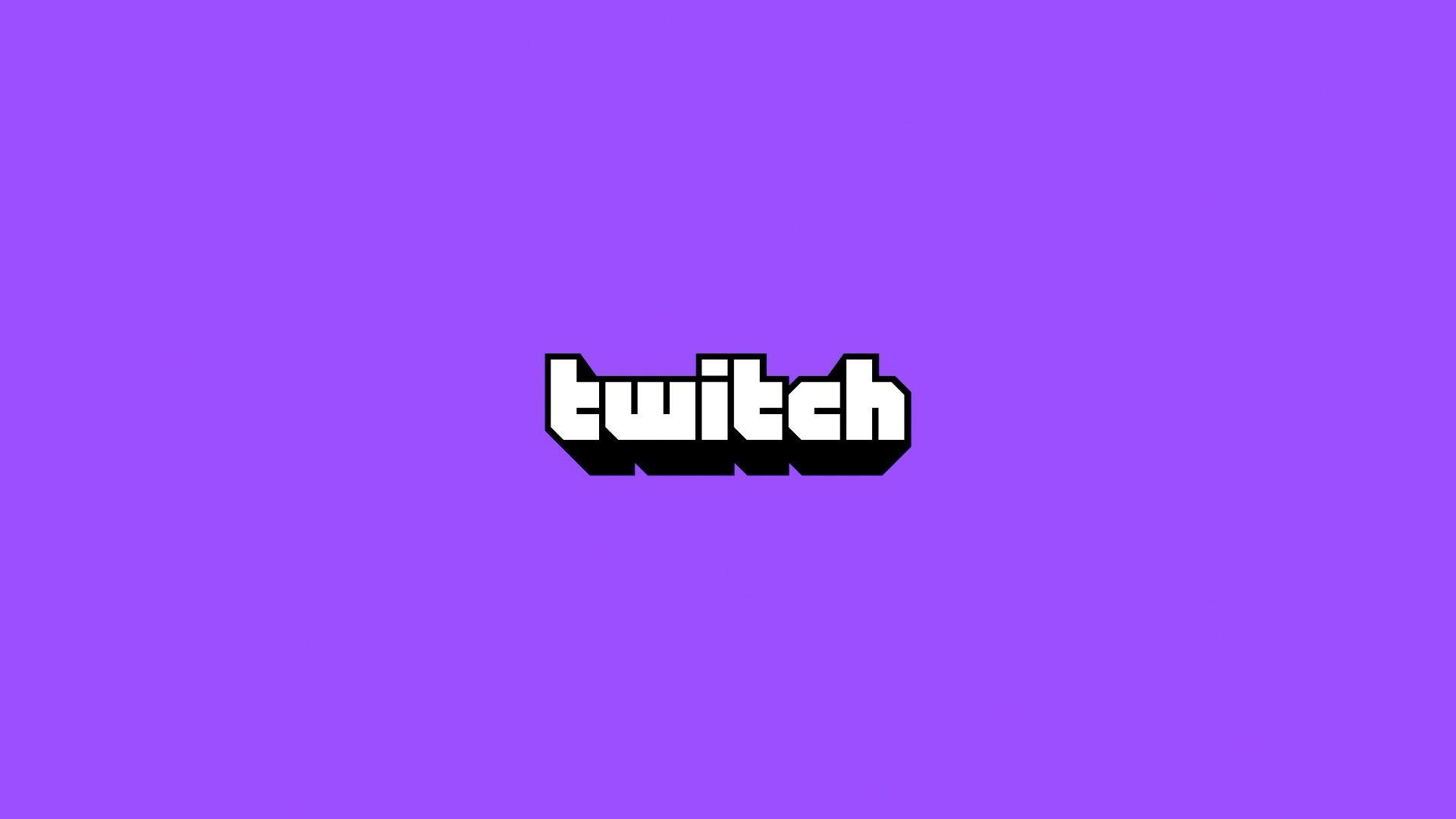 Twitch logo on purple