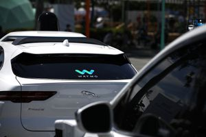Image of Google's Waymo self-driving car