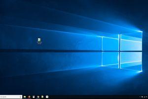 Windows 10 Desktop with Shortcuts