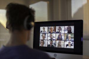 Microsoft Teams provides videoconferencing