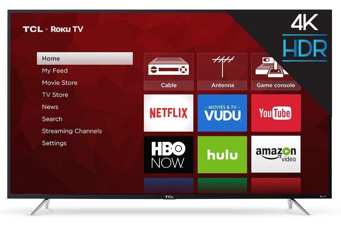 TCL S405 Series 4K Ultra HD Roku Smart TV Example