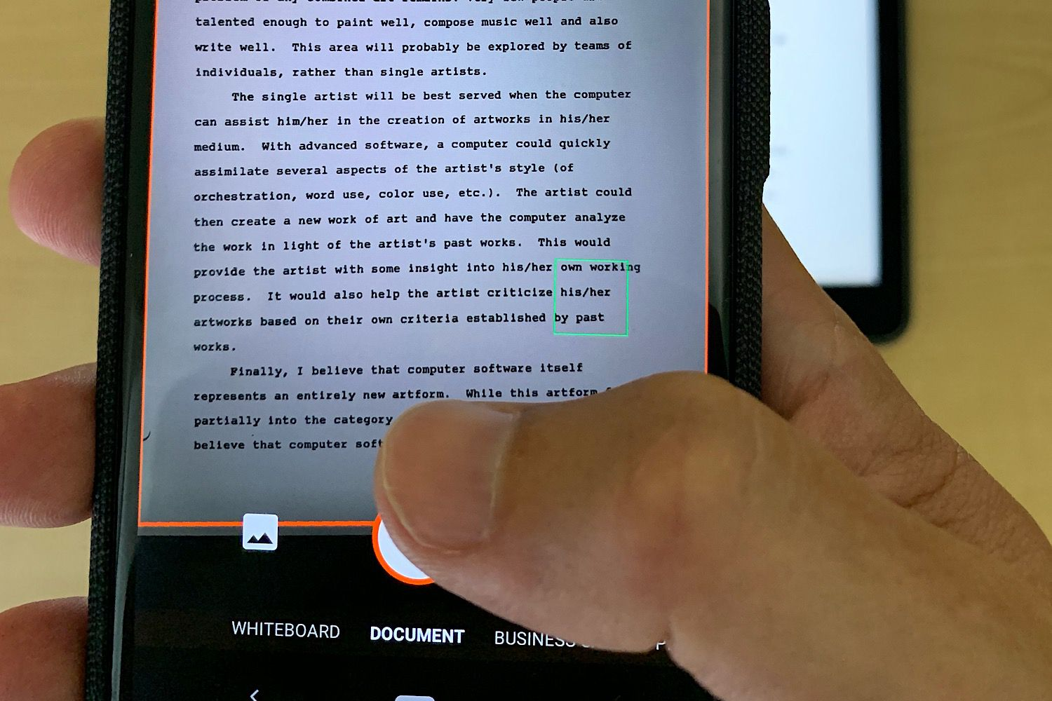 How To Scan To A Word Document