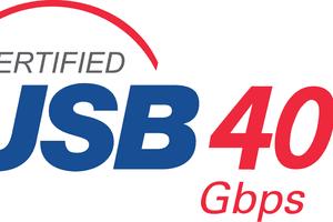 USB4 40 Gbps logo