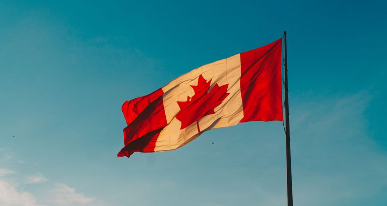 Picture of the Canadian flag