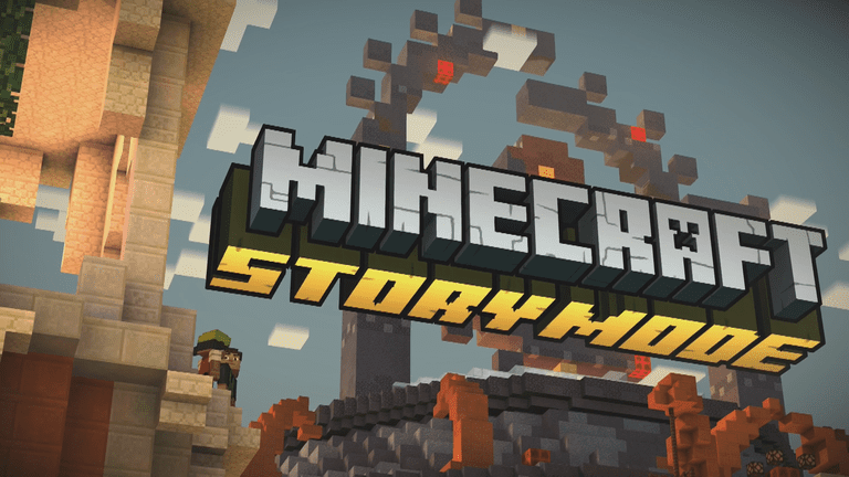 Minecraft Story Mode Screen