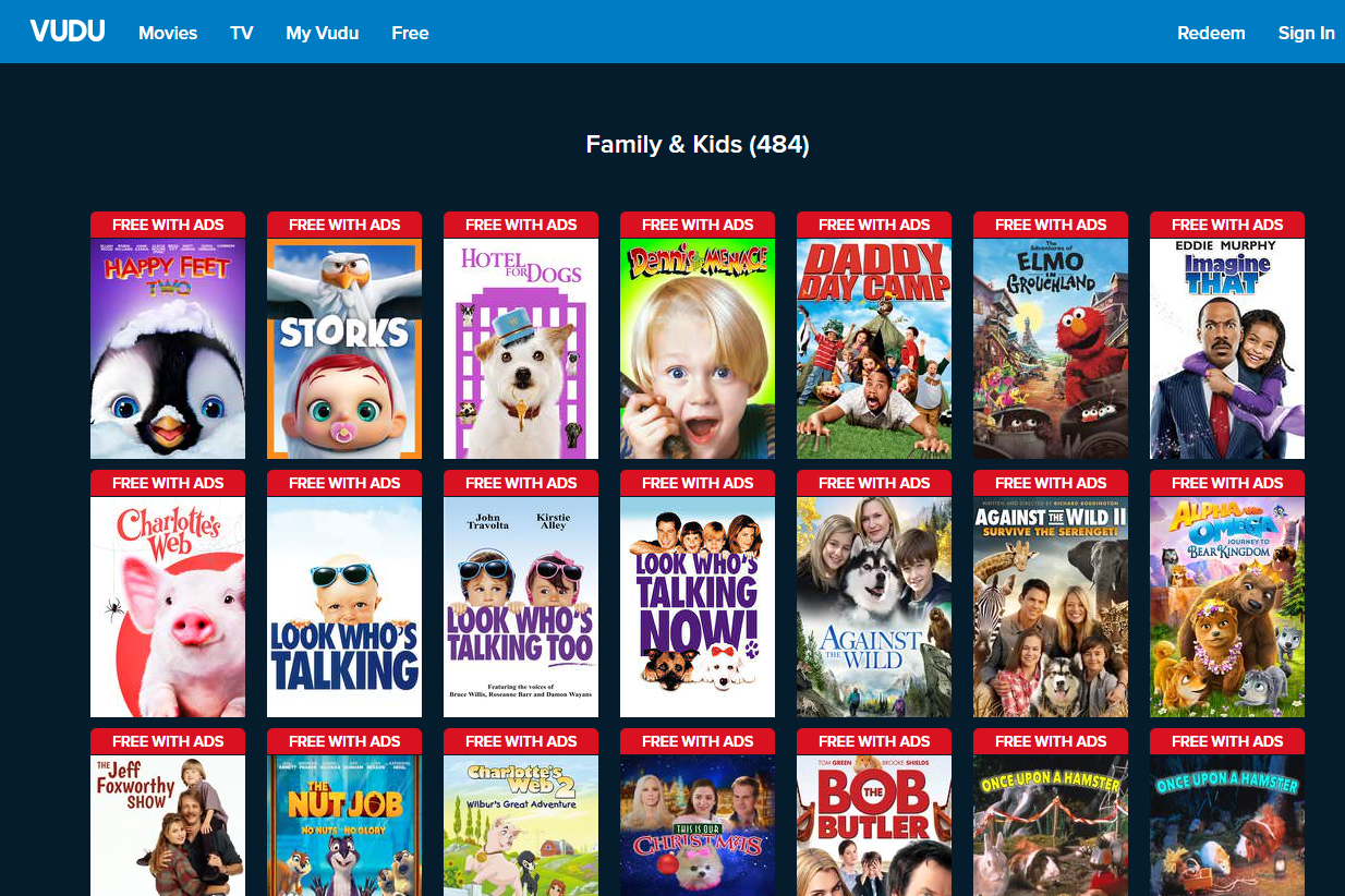 8 Places to Watch Free Kids Movies Online
