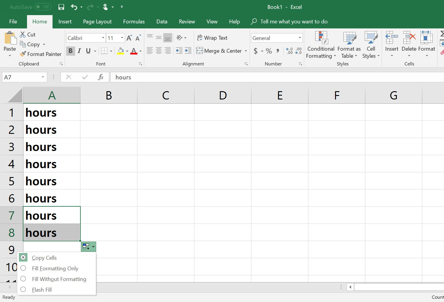 How to Copy Formulas and Data With Excel's Fill Handle