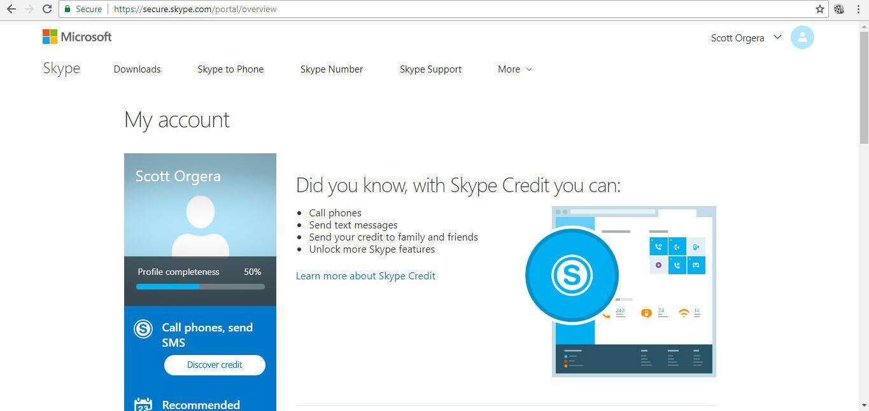 how to skype account delete