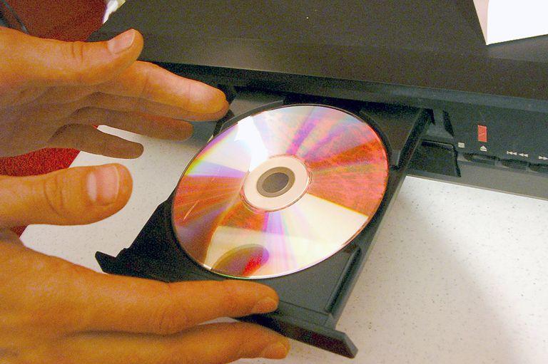 Insert DVD into DVD Player