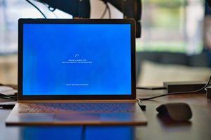 Windows laptop installs update