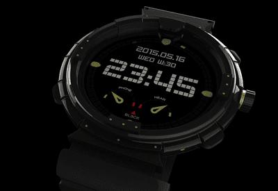 An image of a digital smart watch.