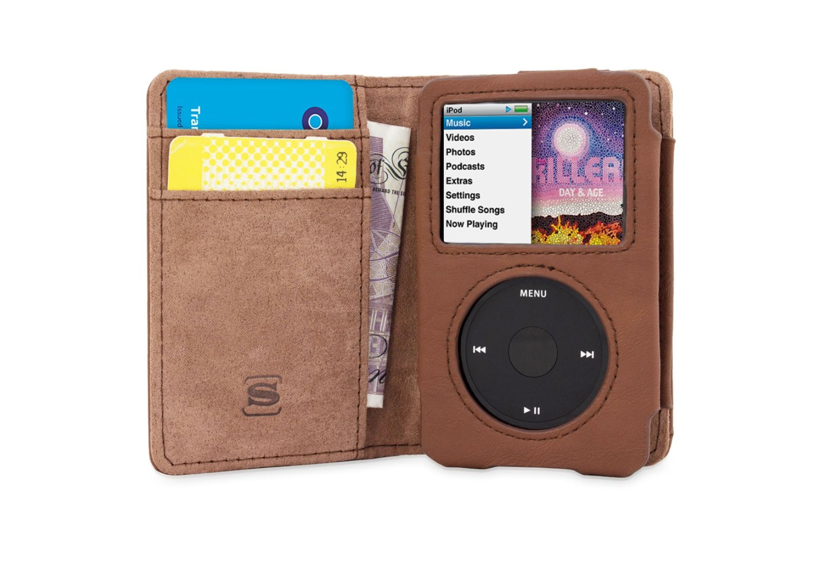 Snugg iPod Classic Wallet case