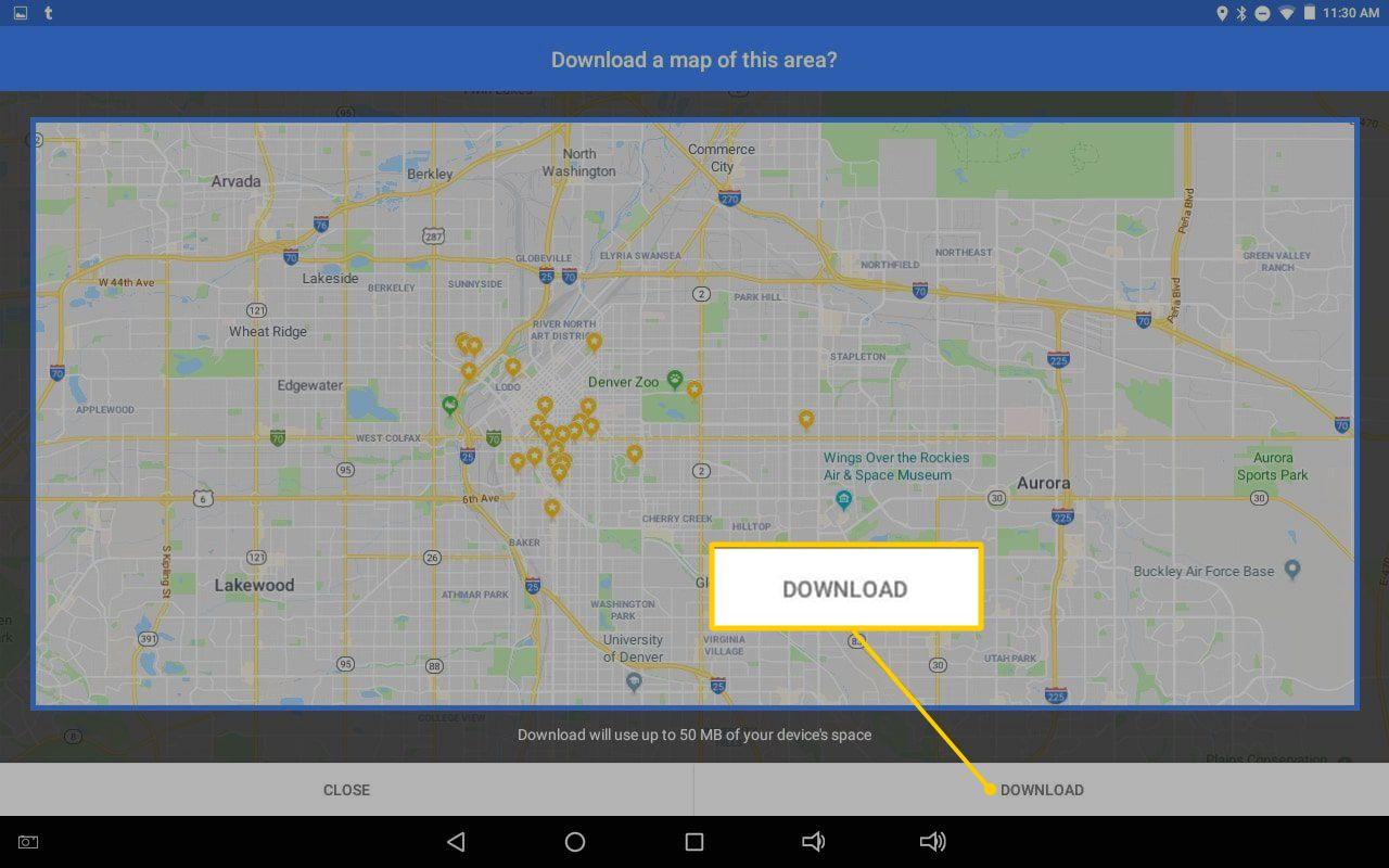 How to Download Google Maps Offline On Your Android Device Download Google Maps For Offline Use on