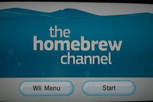homebrew channel screenshot
