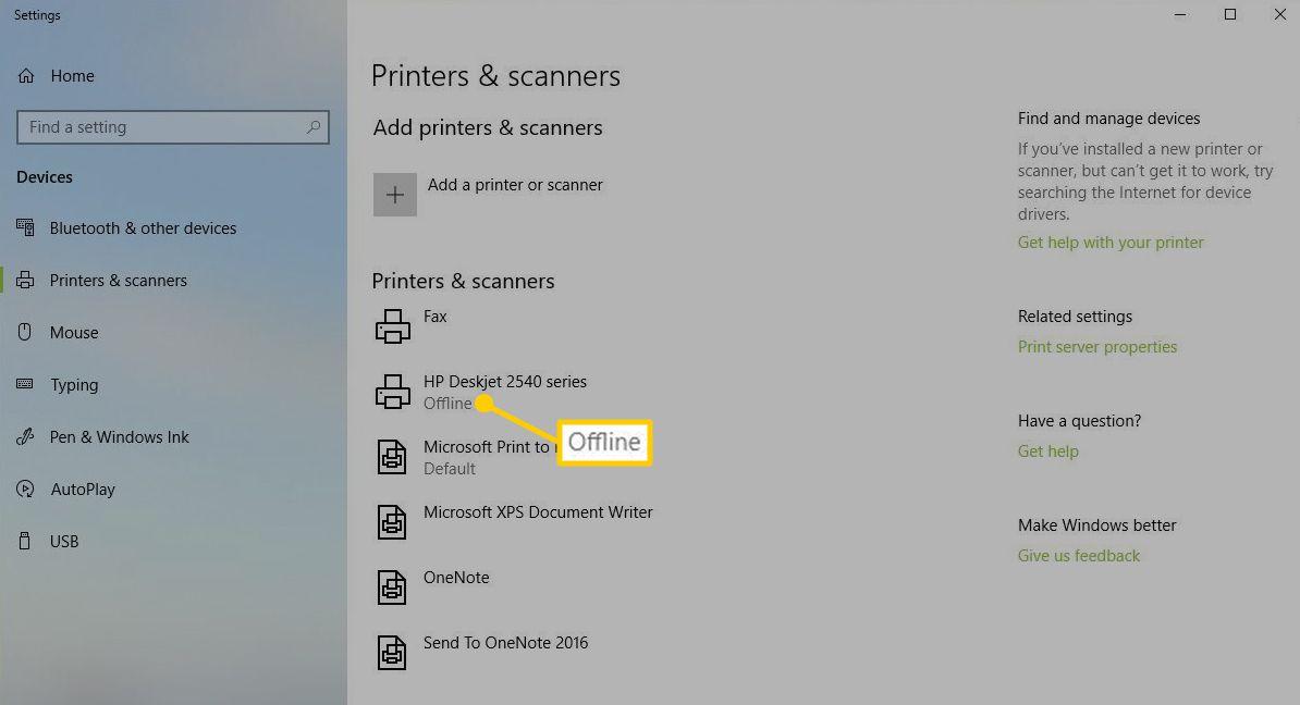 How to Fix It When Your Printer Is Offline