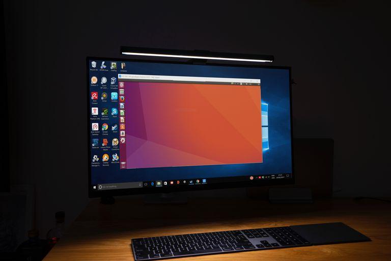Unbuntu on screen