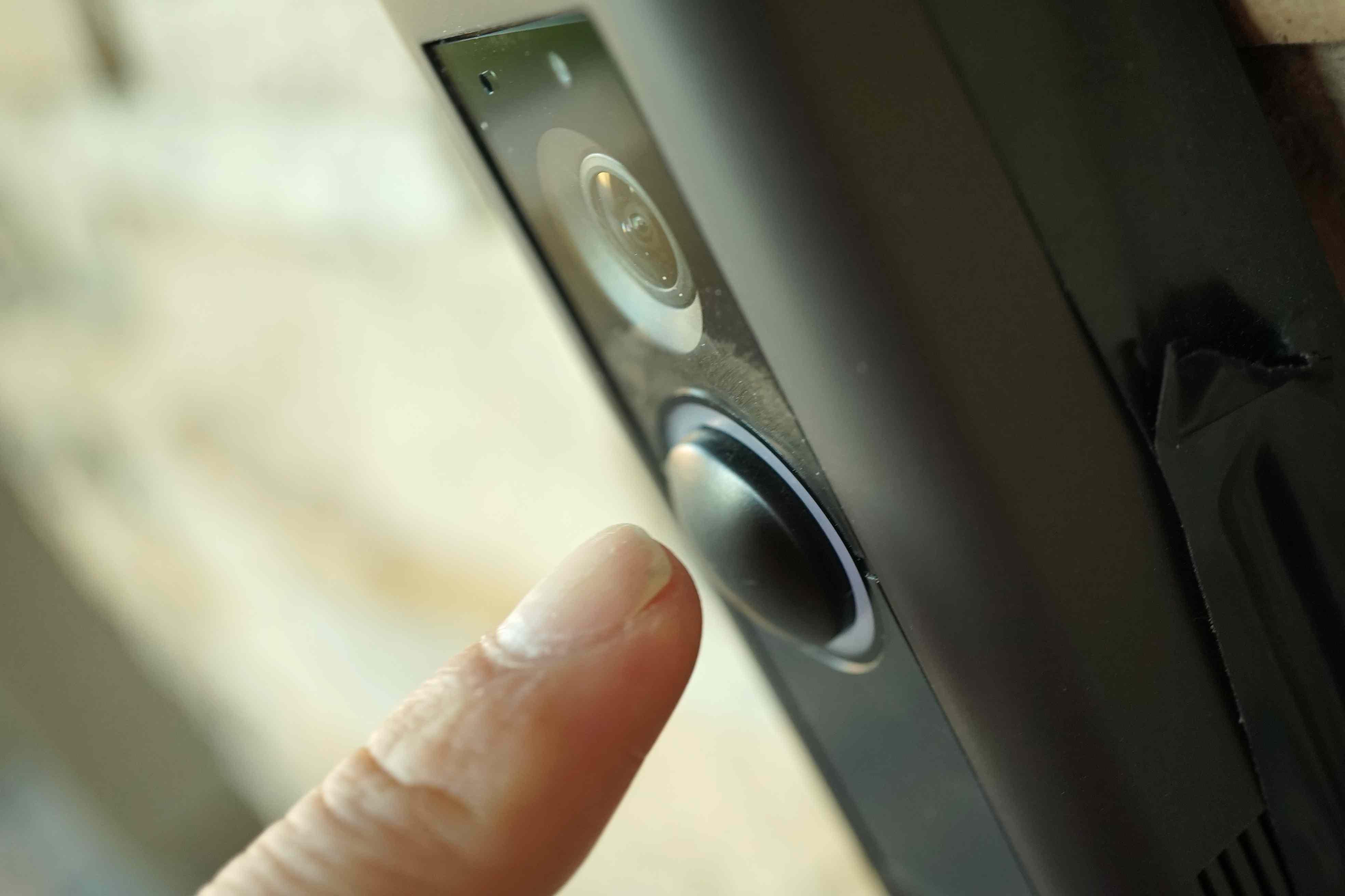 Pressing the Doorbell