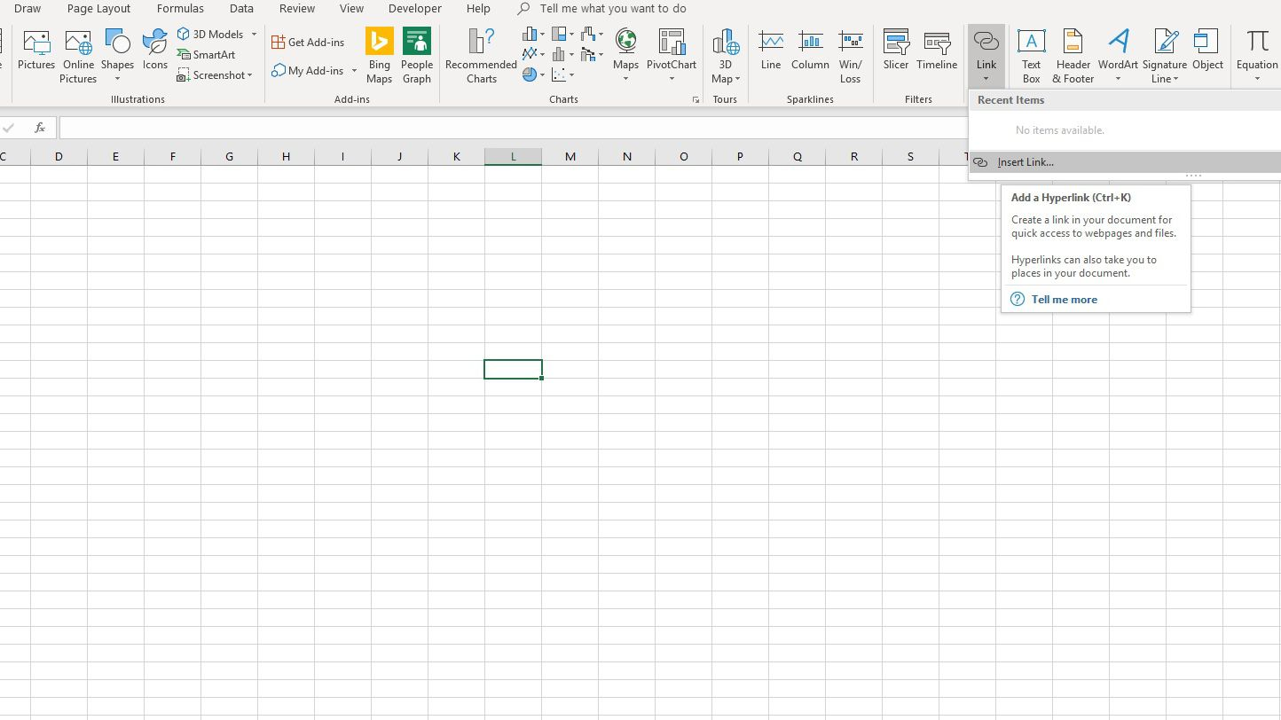 Excel Hyperlinks, Bookmarks, and Mailto Links