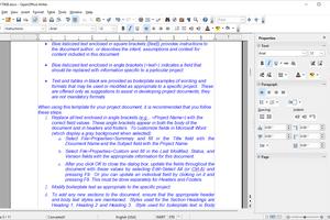 OpenOffice Writer editing DOCX file