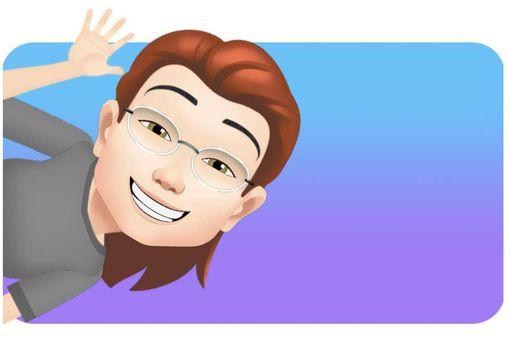 A woman's Facebook avatar.