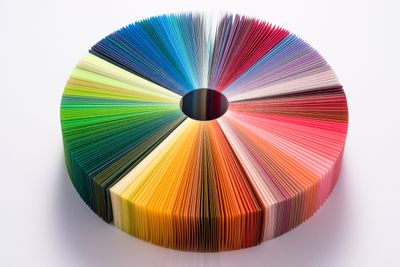 Colorful Paper Pie Chart