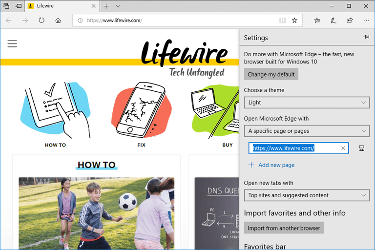 how to set home page on safari mac