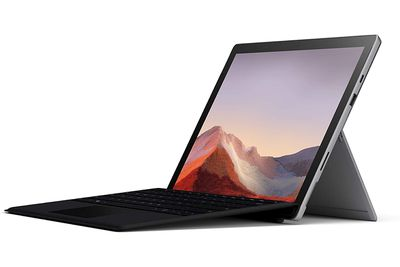 A press photograph of the Microsoft Surface Pro.