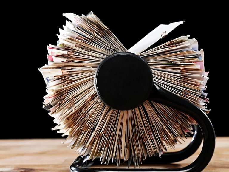 A rolodex for contacts.