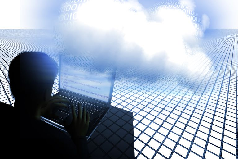 Hacking the cloud, illustration