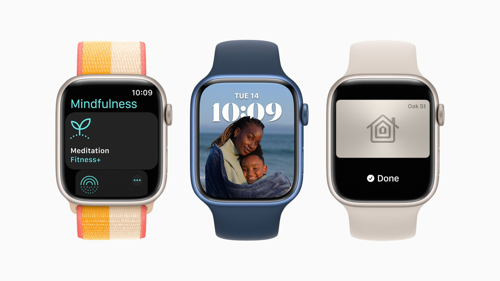 Watch Faces on Apple WatchOS 8.