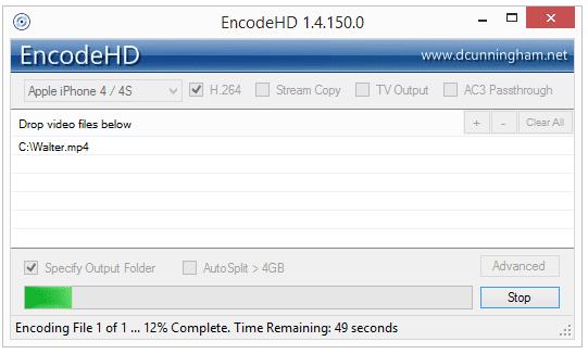 EncodeHD v1.4.150.0