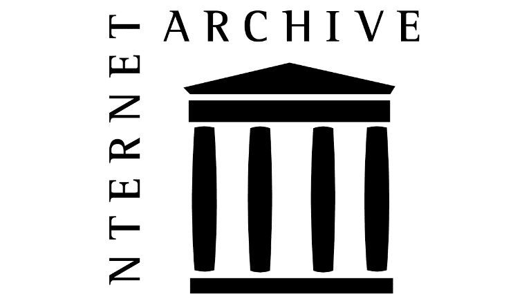 Screenshot of the internet archive logo