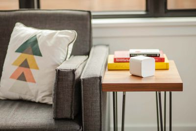 Circle router in living room
