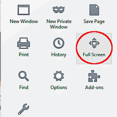 How to Activate Full-Screen Mode in Firefox
