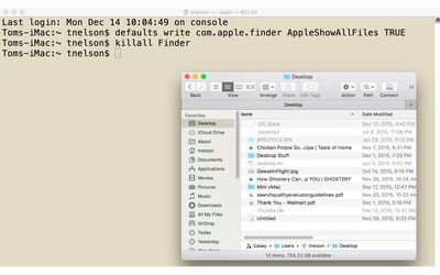 View Hidden Files and Folders on Your Mac With Terminal