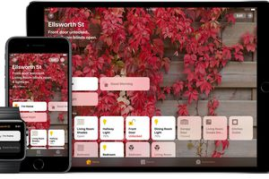 Apple HomeKit on iOS, Apple Watch, and HomePod