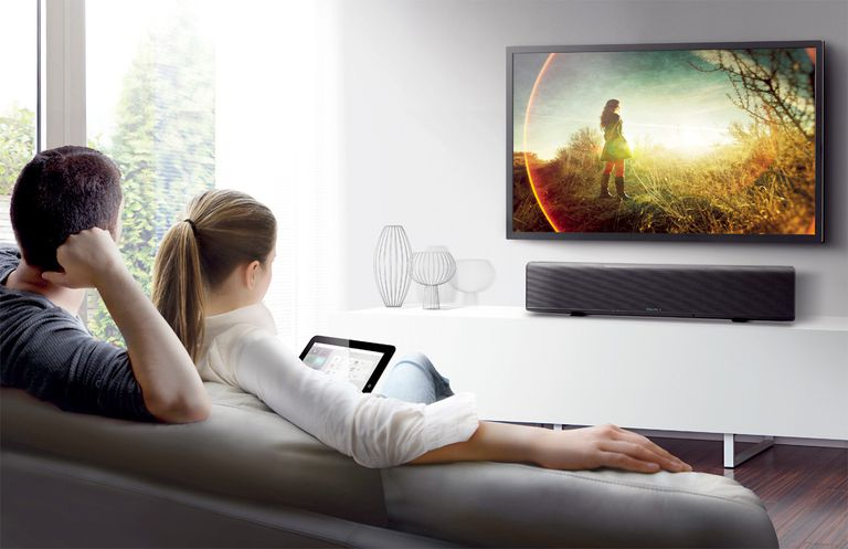 Yamaha Sound Bar Lifestyle Image