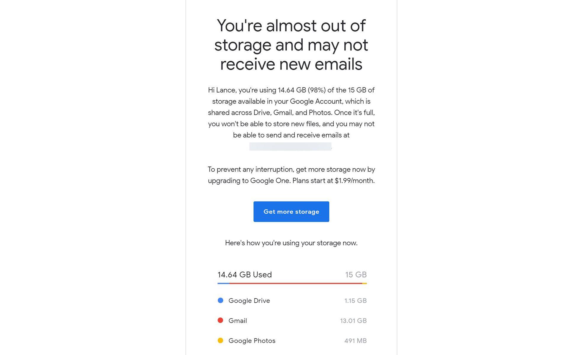 The Unbearable Weight of an Overstuffed Gmail