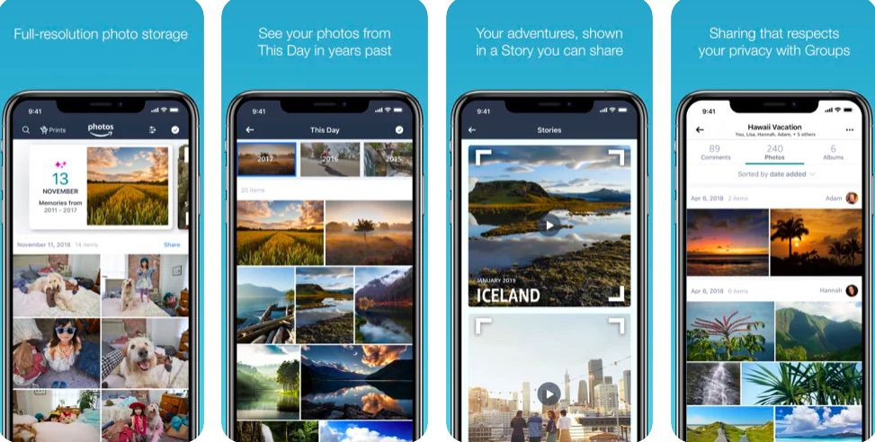 Amazon Photos photo and video sharing website