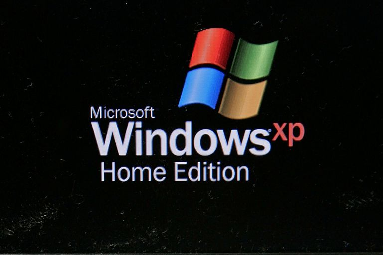 Windows XP Home Edition screen